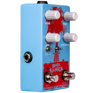 Old Blood Noise Black Fountain W/Tap Tempo Chicago Blue - Pre-Order