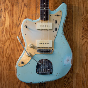 Fender Custom Shop Jason Smith Masterbuilt Jazzmaster Left Handed Aged Sonic Blue 2012 w/OHSC