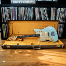 Load image into Gallery viewer, Fender Custom Shop Jason Smith Masterbuilt Jazzmaster Left Handed Aged Sonic Blue 2012 w/OHSC
