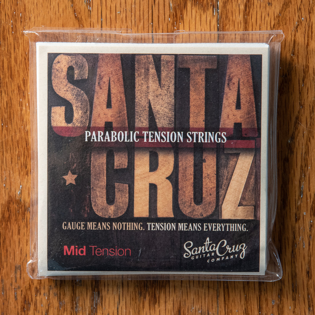 Santa Cruz Parabolic Tension Strings Mid Tension Subscription