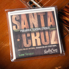 Load image into Gallery viewer, Santa Cruz Parabolic Tension Strings Low Tension Subscription