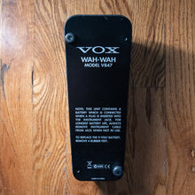 Load image into Gallery viewer, Vox V847 Wah USED