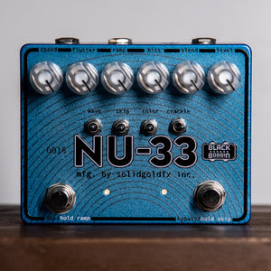 Solidgoldfx NU-33 - Vinyl Engine Chess Blue Exclusive