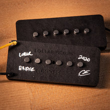 "Load image into Gallery viewer, Lollar ""Black Bobbin"" Jazzmaster Pickup Set"
