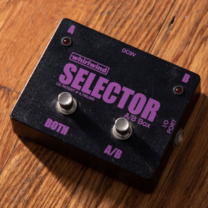 Whirlwind Selector A/B Switch USED