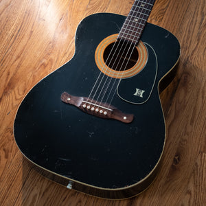 Harmony Sovereign H164 Black 70s w/HSC