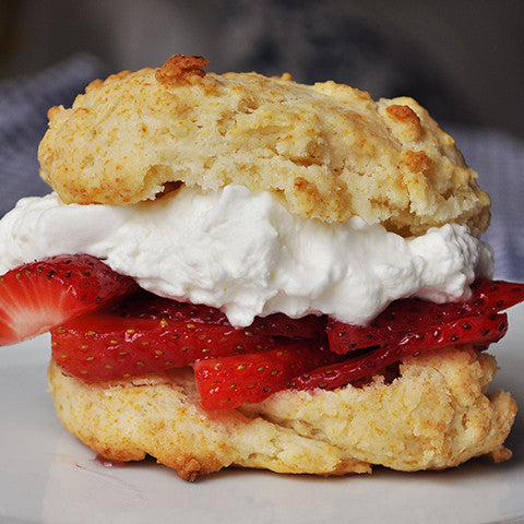 Gluten Free Strawberry Shortcake Biscuits