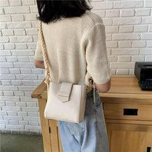 Load image into Gallery viewer, Fashion Small Flap Crossbody Bags For Women 2020 Designer Handbags High Quality PU Leather Shoulder Messenger Bag Cross Body Bag - ladystreets