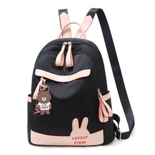 Load image into Gallery viewer, Female Backpack Casual For Women Pu Leather Back Pack Shoulder Cross Bags Travel School - ladystreets