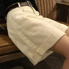 Load image into Gallery viewer, Spring And Summer New Women's Casual Loose Denim Shorts Fashion High Waist Wide Leg Shorts Female Bottoms B01409O - ladystreets