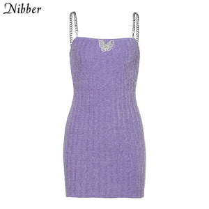 Japanese style cute sweet knitting sling mini dresses women high quality Harajuku casual streetwear 2020 ladies bow dress
