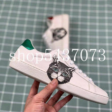 Load image into Gallery viewer, women sneakers brand designer leather platform flat sneaker woman casual shoes design shoes woman trainers sneakers - ladystreets