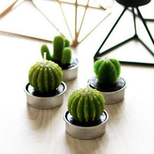 Load image into Gallery viewer, 1pcs Fruit Plant Simulation Candle Scented Candle Valentine Day Gift Party Ornament Home Decoration Creative 3D Cactus Candles - ladystreets