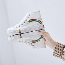 Load image into Gallery viewer, Women Vulcanized Shoes Fashion Sneakers Ladies Canvas Shoes Summer Trainers Black Basket Femme Casual Denim Tenis Feminino 2020 - ladystreets
