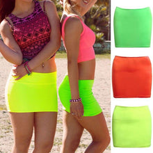 Load image into Gallery viewer, Women Sexy Short Mini Skirt Slim Tight Short Fitted Women Mini Bodycon Skirt Cocktail Clubwear Sexy Stretch Tube Pencil Short - ladystreets