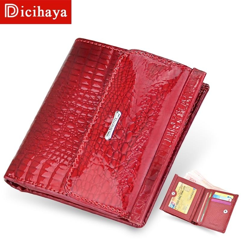 Genuine Leather Women Wallets Mini Wallet Women's Short Clutch Luxury Female Purse Coin Purses Card Holder Coin Bag - ladystreets