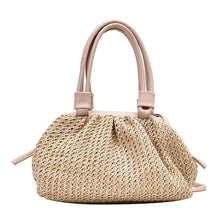 Load image into Gallery viewer, Fashion Small Tote Bag Summer Weave Cloud Bags For Women Lady Crossbody Shoulder Handbags Lady Beach Cross Body Bags - ladystreets