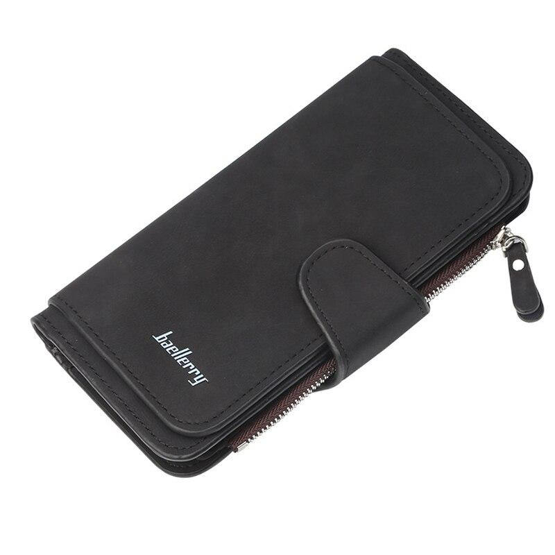 Women Wallets Name Engrave Fashion Long Leather Top Quality Card Holder Classic Female Purse Zipper Wallet For Women - ladystreets