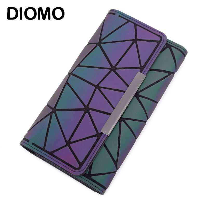 Money Clip Female Trifold Wallet Slim Thin Women Purses Long Clutch Wallets Money Bag - ladystreets