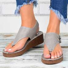 Load image into Gallery viewer, Women Sandals 2020 Platform Sandals With Wedges Shoes For Women Summer Sandals Chaussure Femme Flip Flops Wedge Heels Sandalias - ladystreets