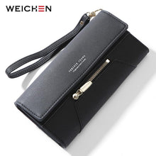 Load image into Gallery viewer, Forever Young Wristlet Clutch Wallet Women Many Departments Female Wallet Zipper Designer Ladies Purse Handbag Cell Phone Pocket - ladystreets