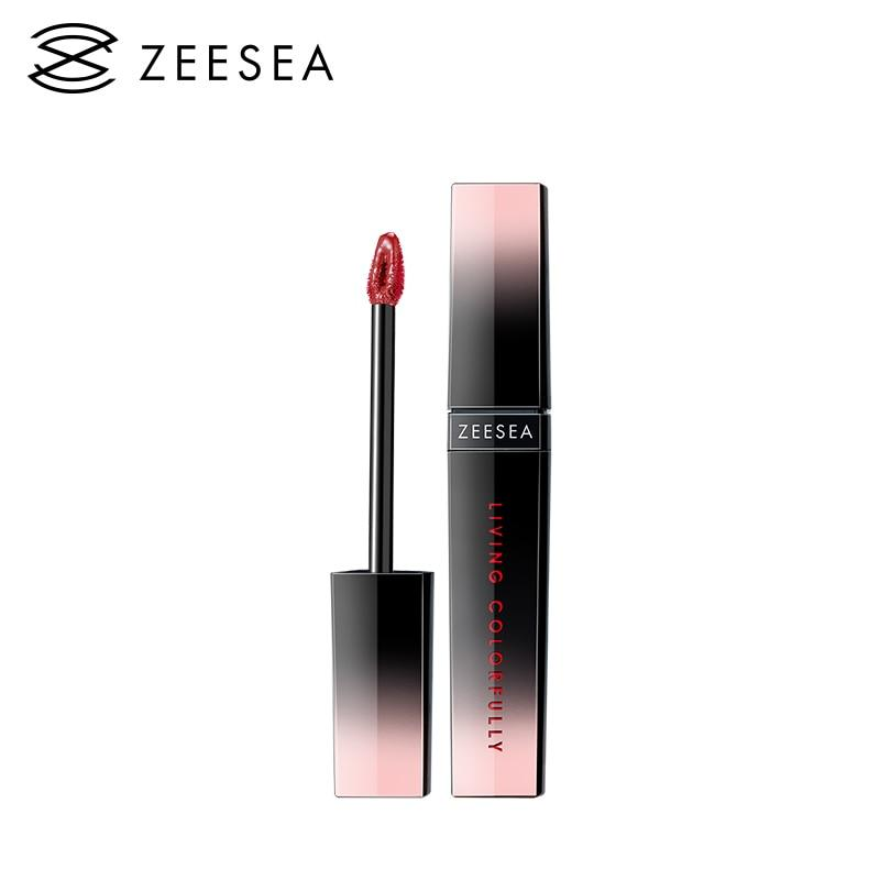 ZEESEA 7 Colors Shimmer Long Lasting Lip Gloss Waterproof Liquid Lipstick Matt Moisturized Bright Lip Stick Cosmetics - ladystreets
