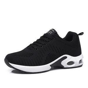Summer Women Sneakers Breathable Mesh Black Casual Shoes Soft Ladies Sport Shoes Jogging Tenis Feminino Red Trainer Zapatillas - ladystreets