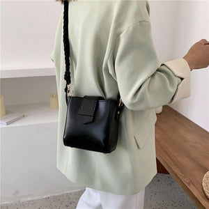 Fashion Small Flap Crossbody Bags For Women 2020 Designer Handbags High Quality PU Leather Shoulder Messenger Bag Cross Body Bag - ladystreets