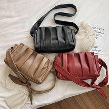 Load image into Gallery viewer, Ladies Tote Bags For Women Leather Handbags Women Clouds Hand Bag Messenger Shoulder Bag Female Vintage Leather Dumplings Bolso - ladystreets