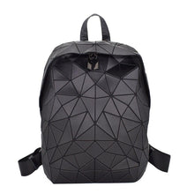 Load image into Gallery viewer, Fashion Women Backpack Luminous Geometric Daypack For Girls Bagpack Noctilucent Men Laptop Backpacks School holographic Female - ladystreets
