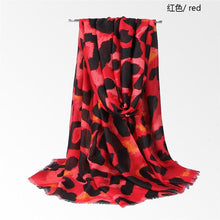 Load image into Gallery viewer, LaMaxPa New Arrival Women Cotton Scarf Leopard Print Pattern Luxury Shawls Tassel Long Wraps Foulard Femme Autumn Soft Pashmina - ladystreets