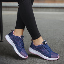 Load image into Gallery viewer, Shoes Woman Sneakers White Platform Trainers Women Shoe Casual Tenis Feminino Zapatos de Mujer Zapatillas Womens Sneaker Basket - ladystreets
