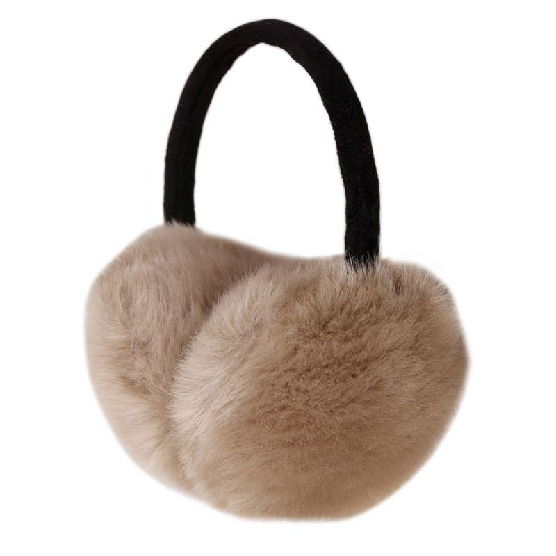 Winter Earmuff Imitation Women Fur Earmuffs Ear Warmers Large Plush - ladystreets