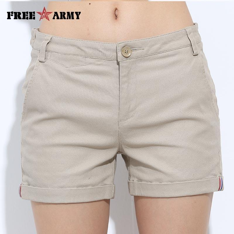 Women's Shorts Summer Two Designs Female Casual Cotton Shorts Women Plain Denim Shorts Embroidery Short Lady - ladystreets