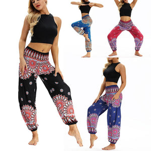 Fashion Bohemian Loose Pant Men Women Casual Hippy Trousers Baggy Aladdin Harem Pant Droppship 20 Colors Штаны для йоги Freeship - ladystreets