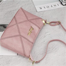 Load image into Gallery viewer, Retro Women Handbags Female Shoulder Crossbody Bags Ladies Artificial Leather Small 4 Colors Stripe Messenger Envelope Bags - ladystreets