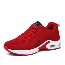 Load image into Gallery viewer, Summer Women Sneakers Breathable Mesh Black Casual Shoes Soft Ladies Sport Shoes Jogging Tenis Feminino Red Trainer Zapatillas - ladystreets