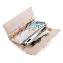 Load image into Gallery viewer, New Arrival Sweet Fashion Printing Women's Wallet Ladies Long Section Coin Purch PU Wallet Card Package - ladystreets