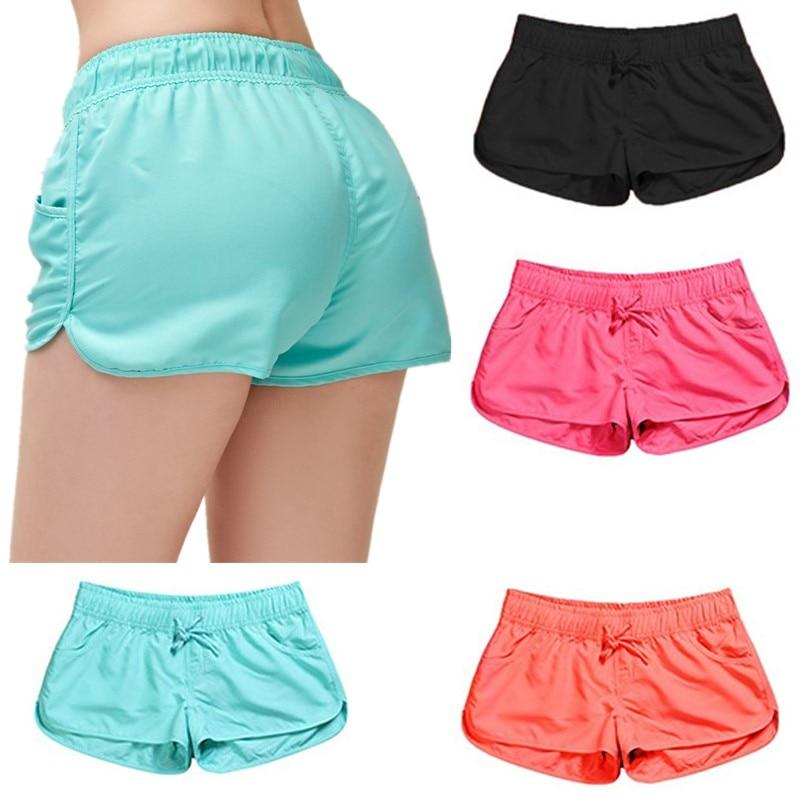 Casual Shorts Women Fit Solid Available Shorts Loose Elastic Waist Breathable Women Fashion Shorts - ladystreets