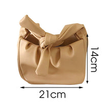 Load image into Gallery viewer, Tote Bags For Women 2020 Vintage Handbags Solid Color Summer Crossbody Shoulder Bag Lady Cloud Pouch Female Soft Leather Clutch - ladystreets