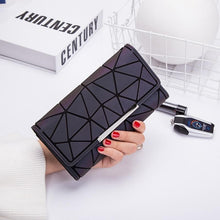 Load image into Gallery viewer, Money Clip Female Trifold Wallet Slim Thin Women Purses Long Clutch Wallets Money Bag - ladystreets