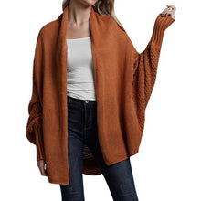 Load image into Gallery viewer, Spring Knitwear Cardigan Sweater Women Long Sleeve Large Size Knitted Sweaters Cardigan Female Solid Jumper Coat