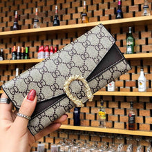 Load image into Gallery viewer, Wallet Brand Coin Purse Canvas Leather Women Wallet Purse New Wallet Female Card Holder Lady Clutch purse Carteira Feminina - ladystreets
