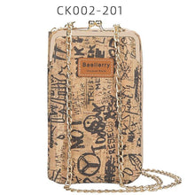 Load image into Gallery viewer, New Fashion Women Wallets Wood Grain Chain Long Top Quality Card Holder Classic Female Purse Zipper Brand Wallet For Women - ladystreets
