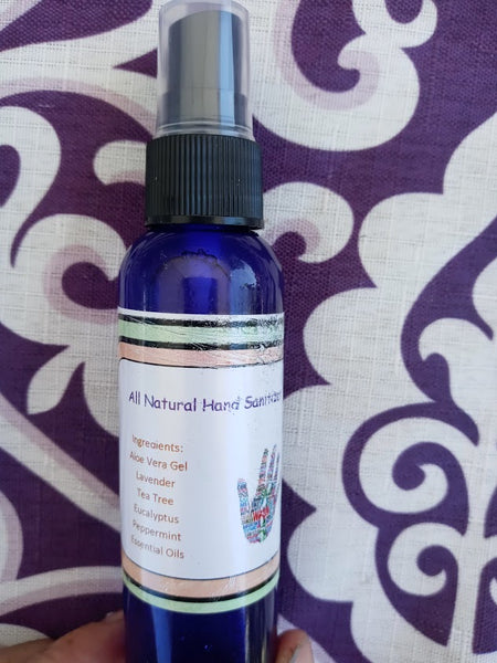 Natural Bug Repellent and Hand Sanitizer