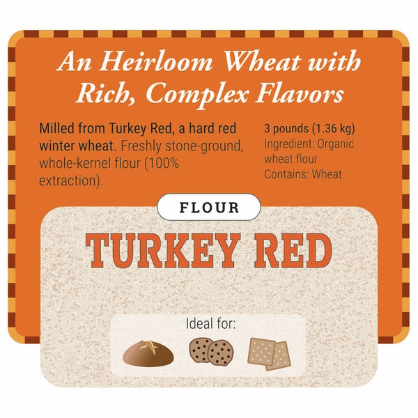 Turkey Red Flour