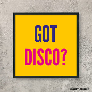 DISCO (yellow)