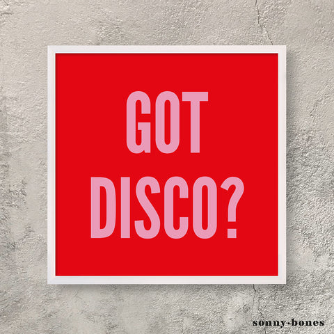 DISCO (red/pink)