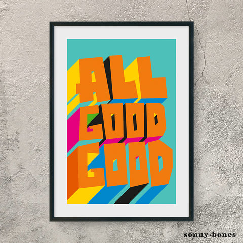 ALL GOOD GOOD (orange)