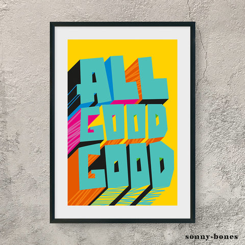 ALL GOOD GOOD (turquoise)